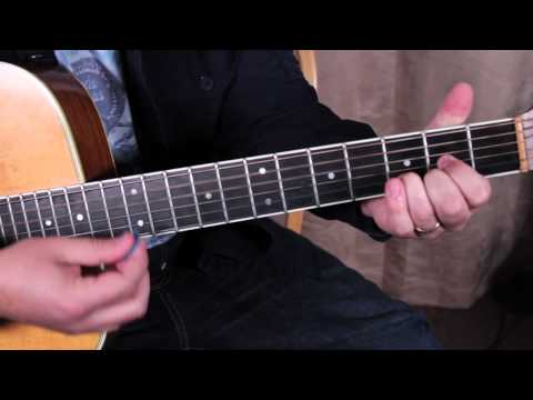 John Mayer - Shadow Days - How To Play On Acoustic Guitar - Easy Acoustic Songs