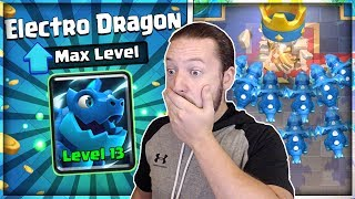 FULLY MAXED NEW ELECTRO DRAGON GAMEPLAY!! THIS CARD IS OP!!