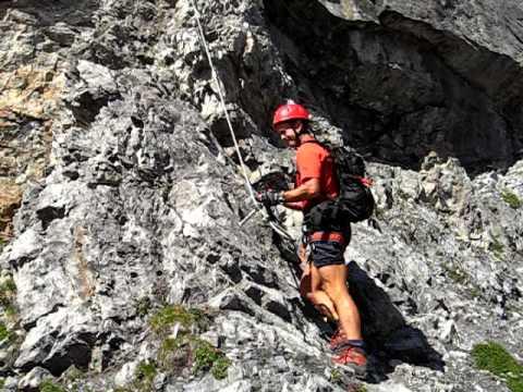 Klettersteig Tabaretta : Ortler tabaretta klettersteig youtube