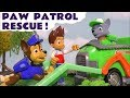 Paw Patrol Rescue Elephant Accident from DC Comics The Joker Prank where Puppies Rocky Rescues
