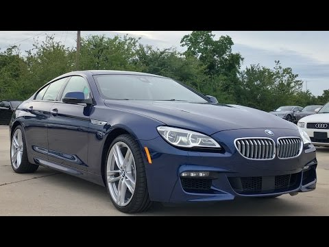 2017 BMW 6 Series 650i Gran Coupe REVIEW, Start Up, Exhaust