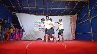 Chenthamara chelulla penne song dance performance by men,  Thankulam