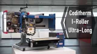 EIDOS Coditherm I-Roller Ultra-Long   Variable data print on tags