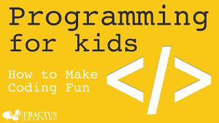 Programming for Kids:  Programming Languages