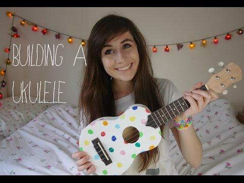 Building a ukulele!