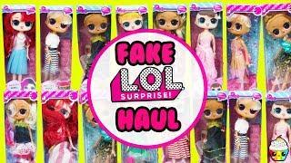 FAKE LOL Surprise Big Sisters Haul Scented Barbie Size LOL Dolls