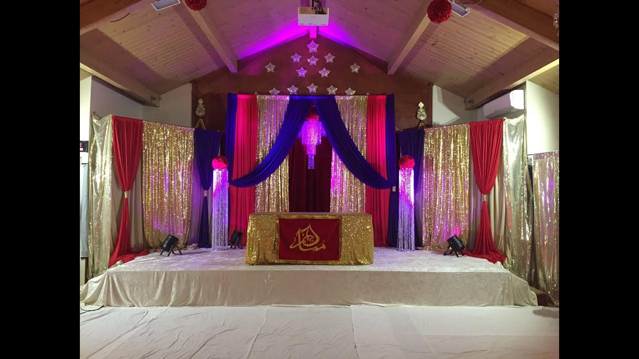 iec husaini Eid e Ghadeer Jashan Prep at IEC Husaini Imam Bargah   2015 - YouTube