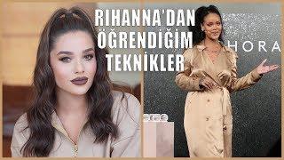 Rihanna'dan Öğrendiğim Teknikler Ve Fenty Face Makyajım