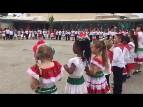 Cinco de Mayo  at South Shores Magnet School