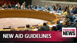 UN Security Council adopted new guidelines aimed at speeding aid to North Korea