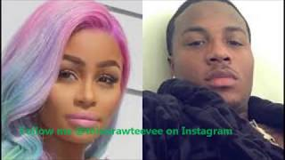 Raw : Blac Chyna Sex Tape Leaks and Restraining Order Placed on Rob Kardashian!!