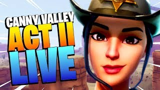 POWER HOUR   CANNY VALLEY ACT 2   Save the World Live   Fortnite PvE thumbnail