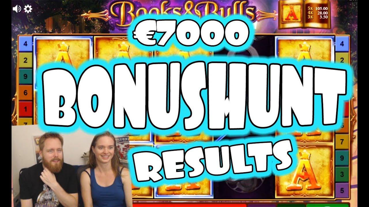 The €7000 bonushunt results!  [09-08-2020]