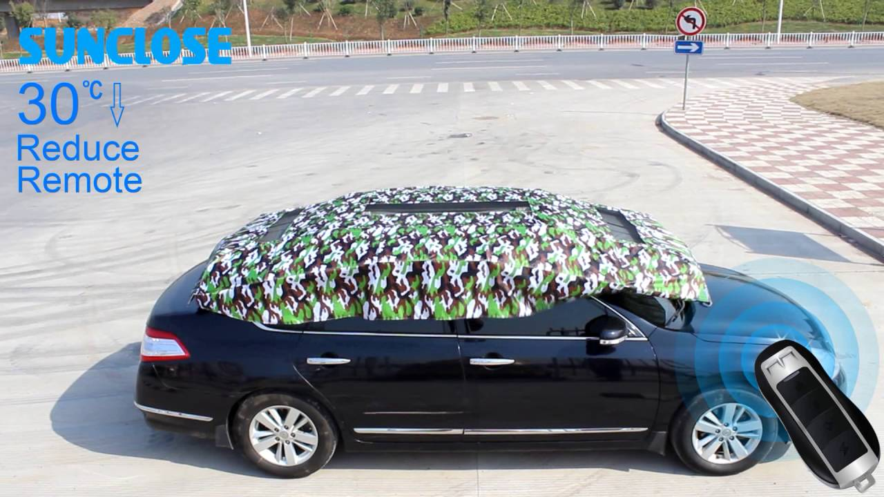 Hail Protection Car Cover >> Sunclose Factory Car Umbrella Hail Protection Car Cover Car Sun Shade