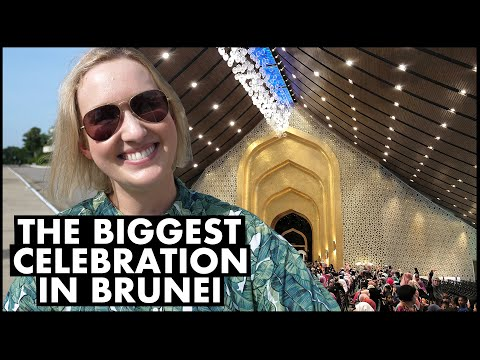 Meeting the Sultan of Brunei Inside the Royal Palace