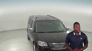 A96381TA - 2016, Chrysler Town & Country, Limited, Passenger Mini Van, Black, Review, For Sale -