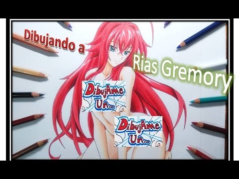 Dibujando a RIAS Gremory. Drawing RIAS gremory from ...