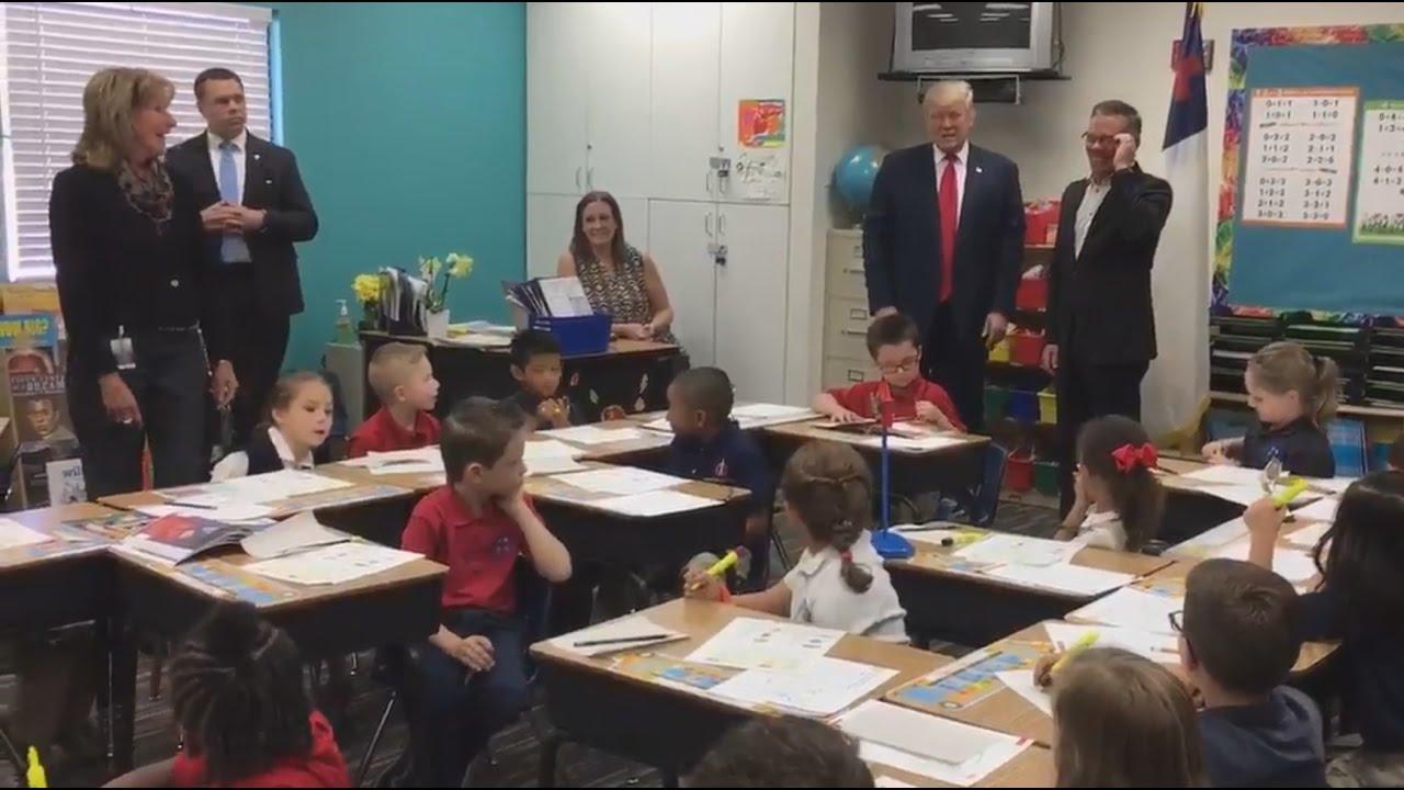 Kids react to Donald Trump: