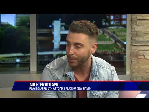 nick fradiani stops by to talk about his latest music