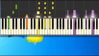 James Brown   it's a man's man's man's world [Synthesia Piano] [Piano Tutorial Synthesia]