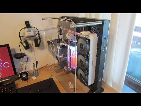 Thermaltake Core P5 Ausgepackt und Zusammengebaut Gaming PC