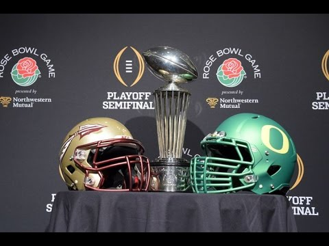 Top 20 2015 Rose Bowl Highlights: Oregon VS Florida St.