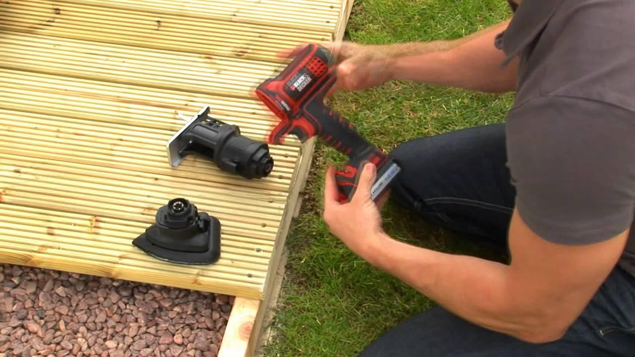 Black decker multievo multi tool more heads are better for Utensile multifunzione parkside