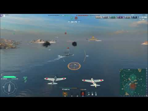 World Of Warship Uçak Gemisi Değişmiş Öğreniyoruz #2