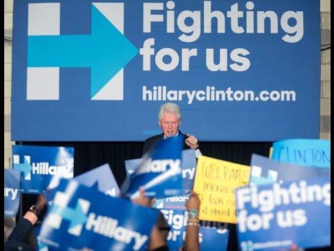 VIDEO: Bill Clinton Tells Black Lives Matter They're Defending Drug Sales & Murder