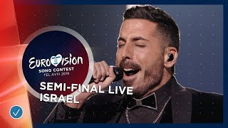 Israel - LIVE - Kobi Marimi - Home - First Semi-Final - Eurovision 2019