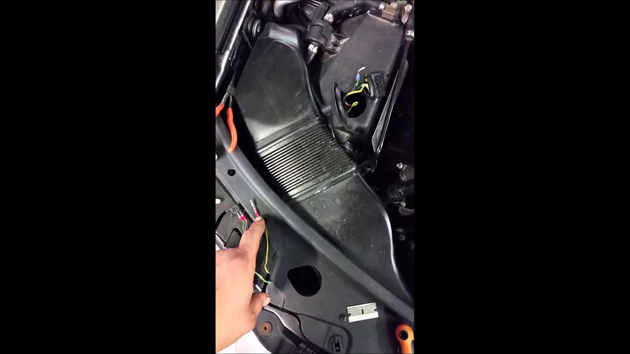 small resolution of v w mass air flow wire harness repair