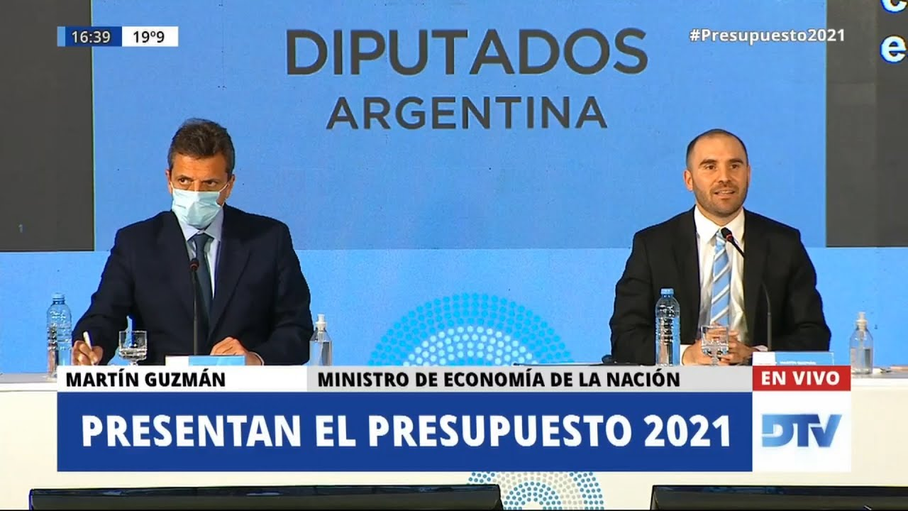 Guzmán presentó los detalles del proyecto en el marco de un plenario de la Cámara de Diputados