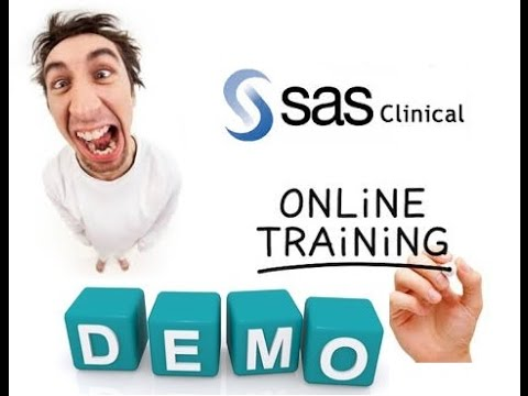 clinical sas online training demo