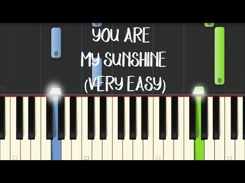 YOU ARE MY SUNSHINE - Moira Dela Torre || Synthesia Piano Tutorial (VERY EASY)