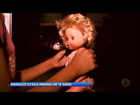 Maníaco ataca menina de 12 anos