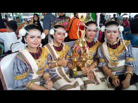 Tari Bedana Pada Festival Way Kambas 2018