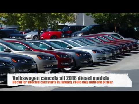 VW recalls all 2016 diesel models in the United States
