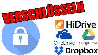 Cloudspeicher verschlüsseln mit CryptSync (Dropbox, Google Drive, OneDrive)