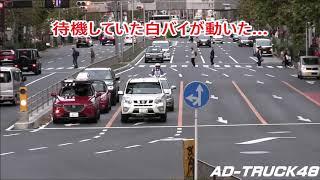 白バイ隊員がスルーした車を停止させる警察官だったが…これはスルーでしょ!