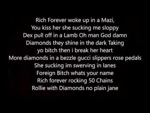 Famous Dex Ft Rich The Kid Goyard Lyrics