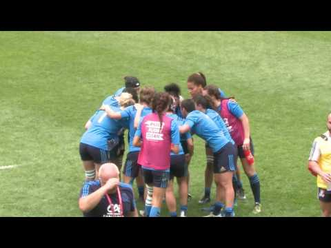 South Africa vs Italy - World Rugby Women's Sevens Series Qualifiers