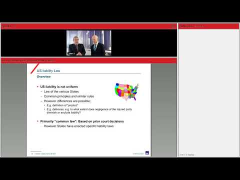 Webinar - Insuring liability risks of the US/CAN markets