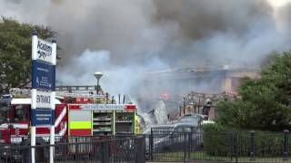 Selsey Academy fire 21st Aug 2016 By Max Gilligan