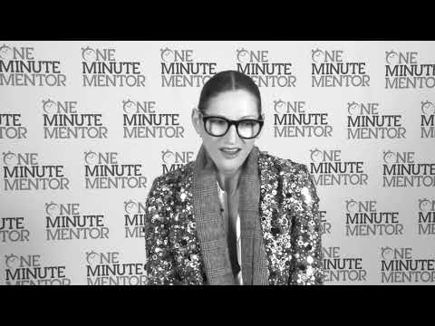 Hearst One Minute Mentor: Jenna Lyons on Fear