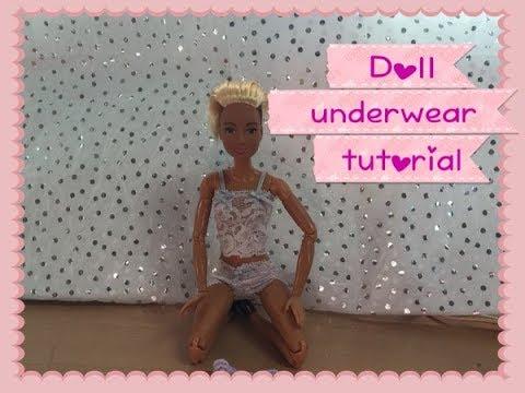 Ravelry: Doll Undies in Crochet pattern by Julia Bremer | 360x480