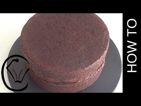Scratch Chocolate Cake 2 layer Dense and Moist by Cupcake Savvy's Kitchen