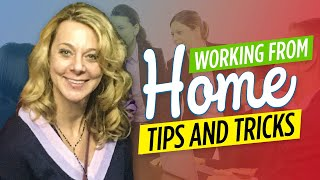 How To Actually Get Work Done | Working From Home Tips And Tricks