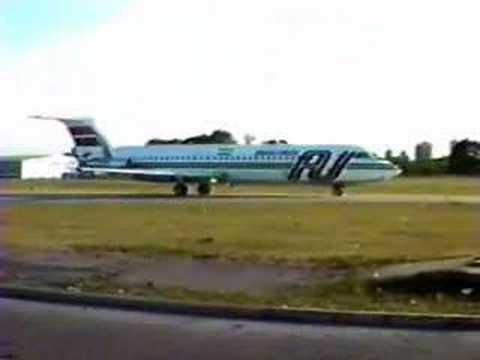 Austral BAC One Eleven 500 taxi & takeoff (no hush kit!)