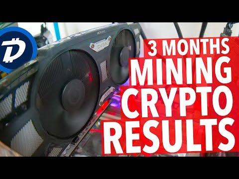3 MONTHS MINING CRYPTO CURRENCY! DIGIBYTE!