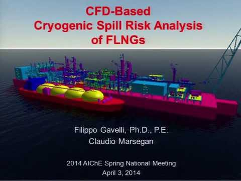 Advanced Modeling for Cryogenic Spill Risk Assessments of Floating LNG